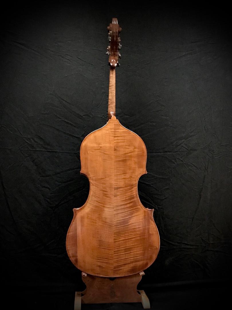 Beautiful Wood; Flat Back Bass