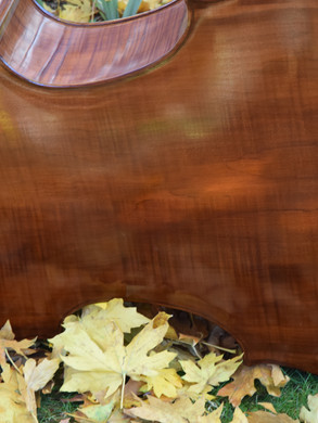 """Specialty local Western Maple Back and Redwood top are included at no extra charge as a """"Pandemic Special"""""""