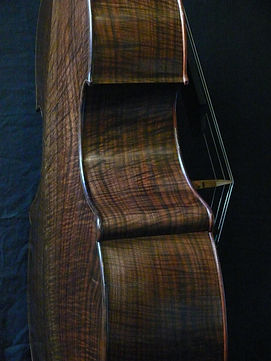 Orchestral (large) Busetto Bass ©2016 by Seth Kimmel  Bass maker/luthier of American made, real wood, hand-carved, double bass violins; Eugene, Oregon, USA