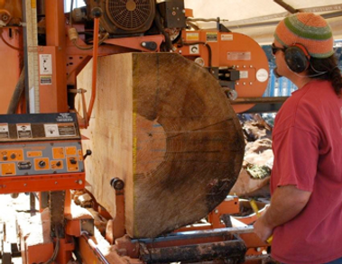 ©Seth Kimmel 2016 Milling big wood for a DOUBLe bass in Oregon
