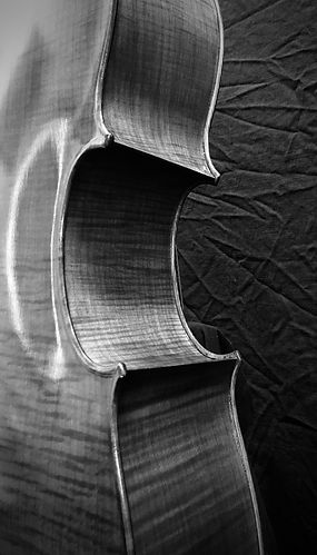 Seth Kimmel 'cello #4 ©2020 by Seth Kimmel; Made in America