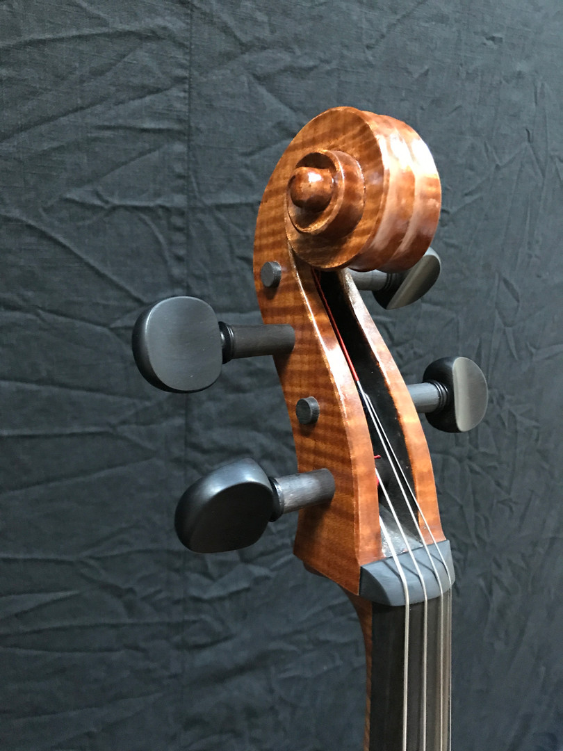 Look, Ma! No Tuning-Machines-just good old solid wood tuning pegs!