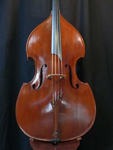 ©Seth Kimmel 2014 Bass maker/  Luthier Eugene Oregon hand-crafted American Made real wood upright double bass violin classic model
