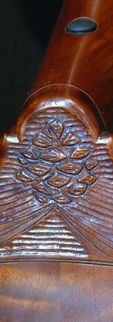 #56 Ponderosa Pine Cone Carving