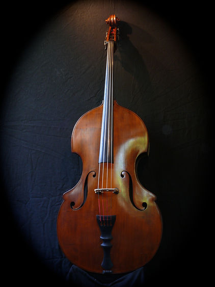 image of Kimmel Bass #50 ©2017 by Seth Kimmel  Bass maker/luthier of American made, real wood, hand-carved, double bass violins; Eugene, Oregon, USA