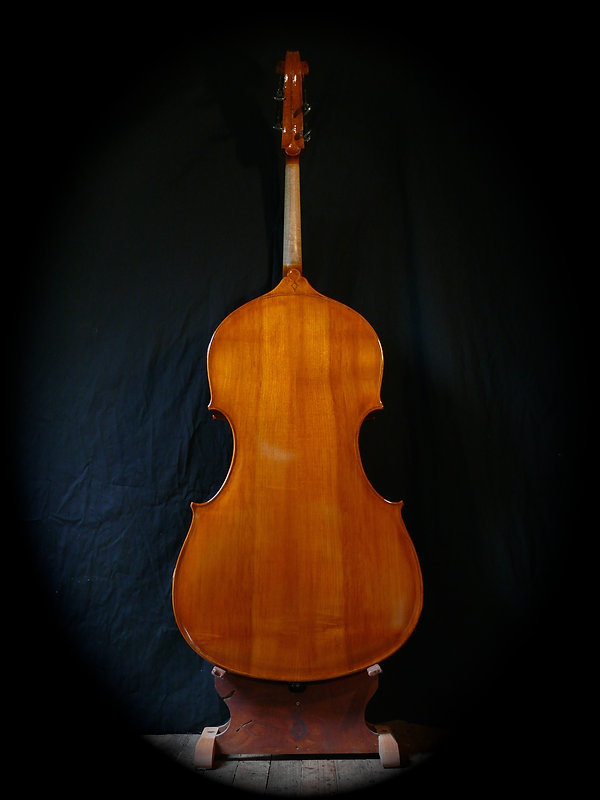 image Western Maple flat-back Kimmel bass #30 Mill St, Milanese©Seth Kimmel 2013 Bass maker, bass Luthier Eugene Oregon hand carved American Made real wood upright double bass violin images sales