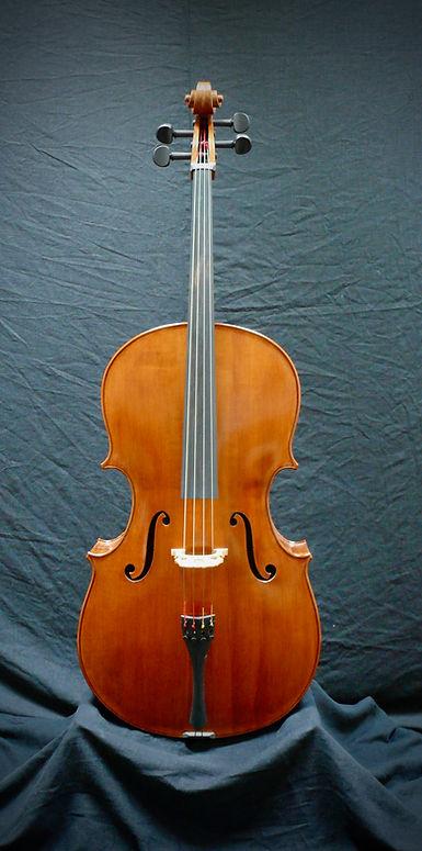 Kimmel 'cello #5 front ©2020 Seth Kimmel