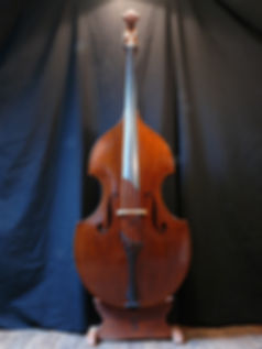 ©Seth Kimmel 2014 Bass maker, bass Luthier Eugene Oregon hand carved American Made real wood upright double bass violin images sales