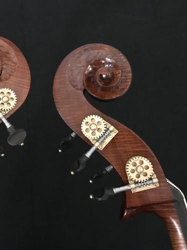 Unique Scrolls Designed Specifically for the Twin Pacific Violones