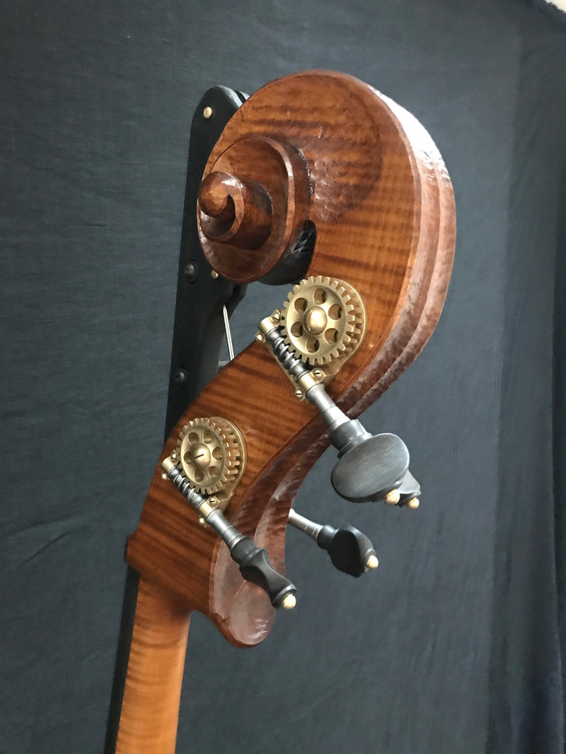 Finished Scroll with German Made Rubner Tuning Machines