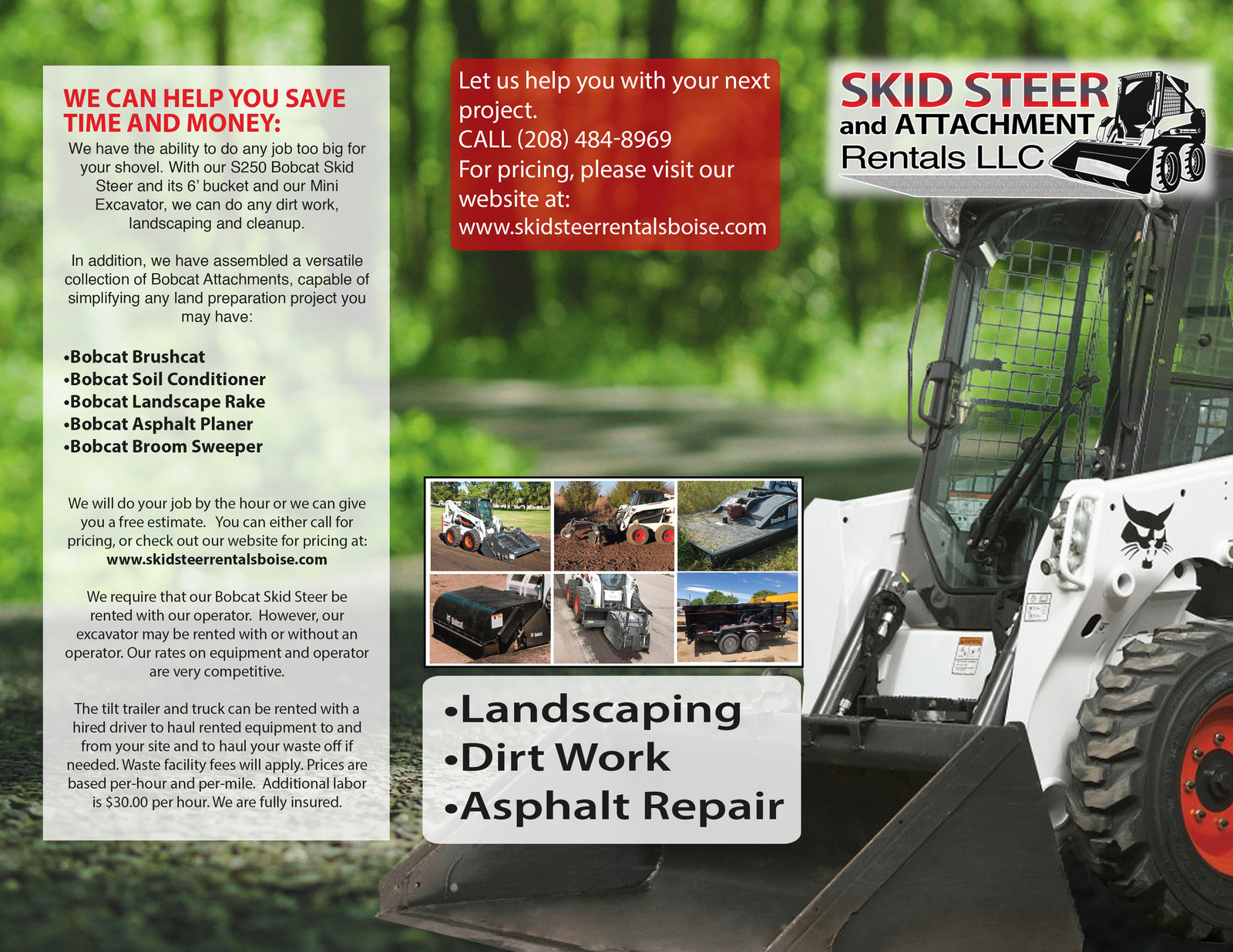 Skid Steer Soil Conditioner For Rent