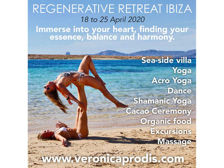REGENERATIVE RETREAT IBIZA - 18 to 25 April 2020