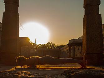 Ashtanga yoga - sun salutation - chatara