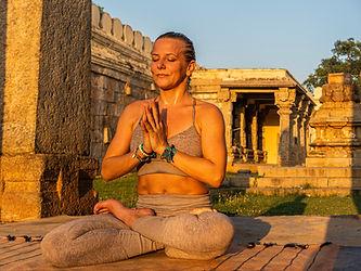 Yoga Online on Zoom