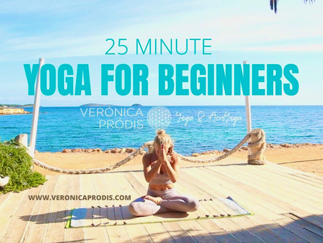 YOGA FOR BEGINNERS - Online Yoga classes live from Ibiza