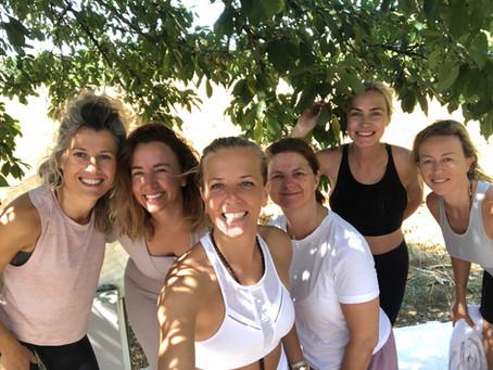 Yoga classes in Atzaro