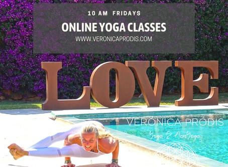 FRIDAY ONLINE YOGA CLASSES