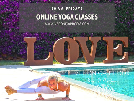 FRIDAY ONLINE YOGA CLASSES