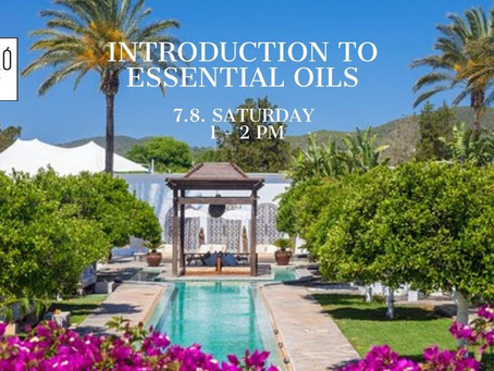 Introduction to Essential Oils @ Atzaro with Veronica & Kate.