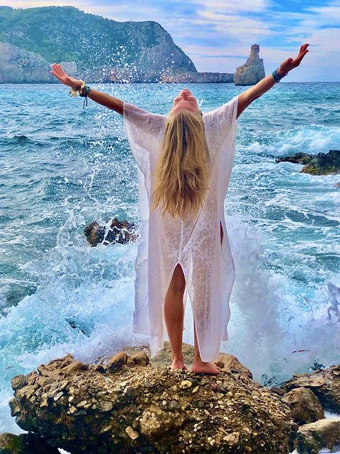 Veronica Pródis awakening Ibiza