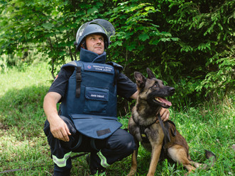 Explosive sniffing dogs saving lives around the world