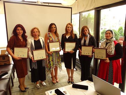 All mentors - Saja, Mona, Josephine, Hin