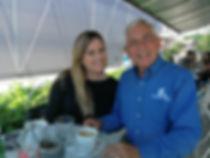 Perry meeting with landmine survivor Sel