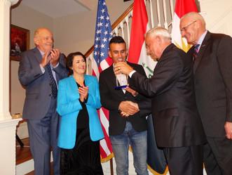 MLI Honors Karzan Grawy