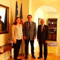 Emin from the Bosnia and Herzegovina Embassy
