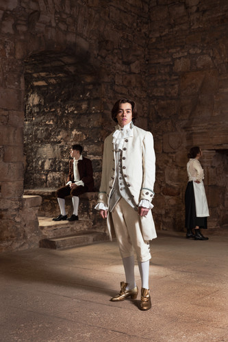 1800s Men's Wear Last of the tights