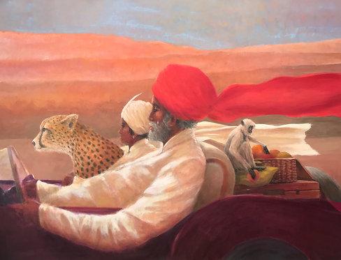 Maharaja and Monkey Picnic