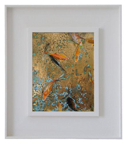 Goldfish in Pink and Orange