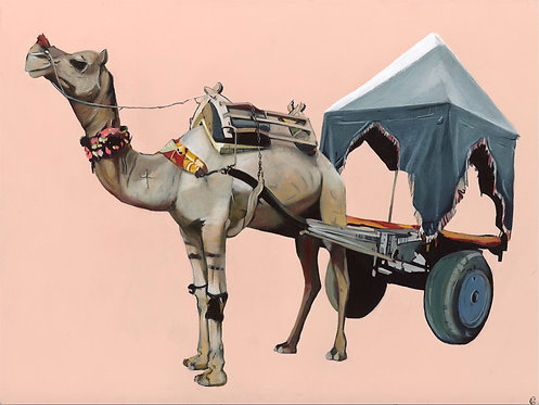 Camel with Cart