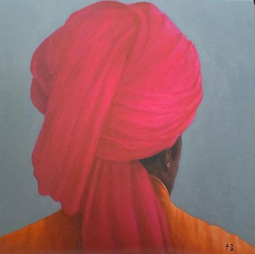 Pink Turban