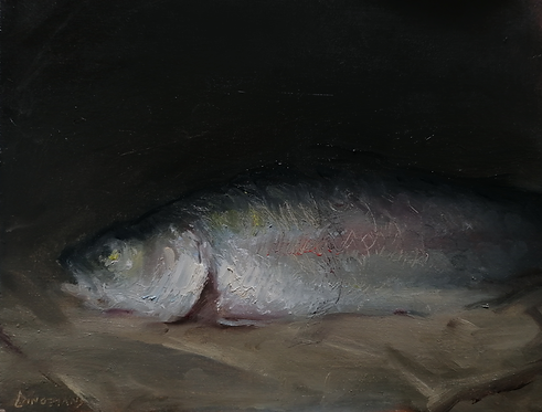 Fish on a cloth