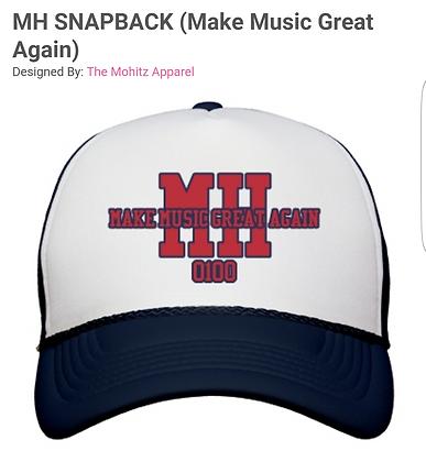 MH SNAPBACK(MAKE MUSIC GREAT AGAIN)