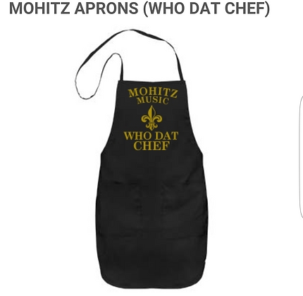 MOHITZ APRON(WHO DAT CHEF)
