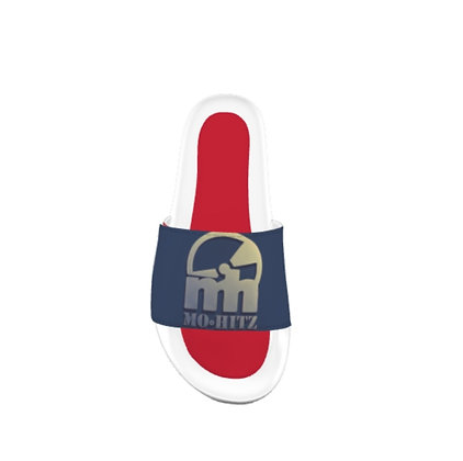 Navy/Red/White Mh Slippers
