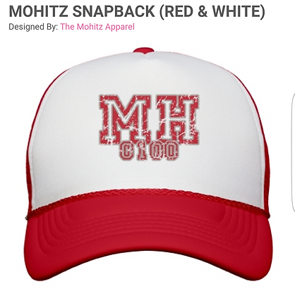 MH SNAP BACK (RED/BLACK/NAVY