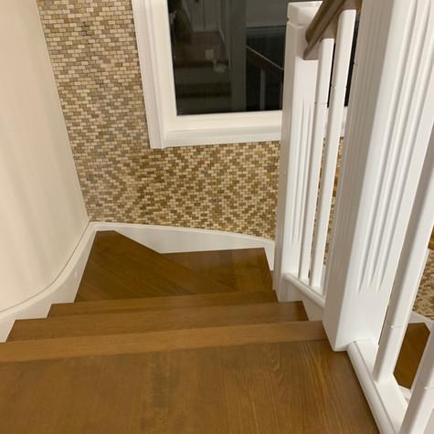Scari interioare din lemn Smoked Brown