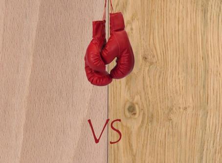 Fag VS Stejar - Confruntarea greilor