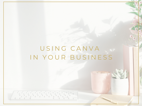 Using Canva in your business