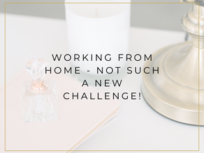 Working from home - not such a new challenge!