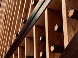 FEATURE WALL/WINE RACK