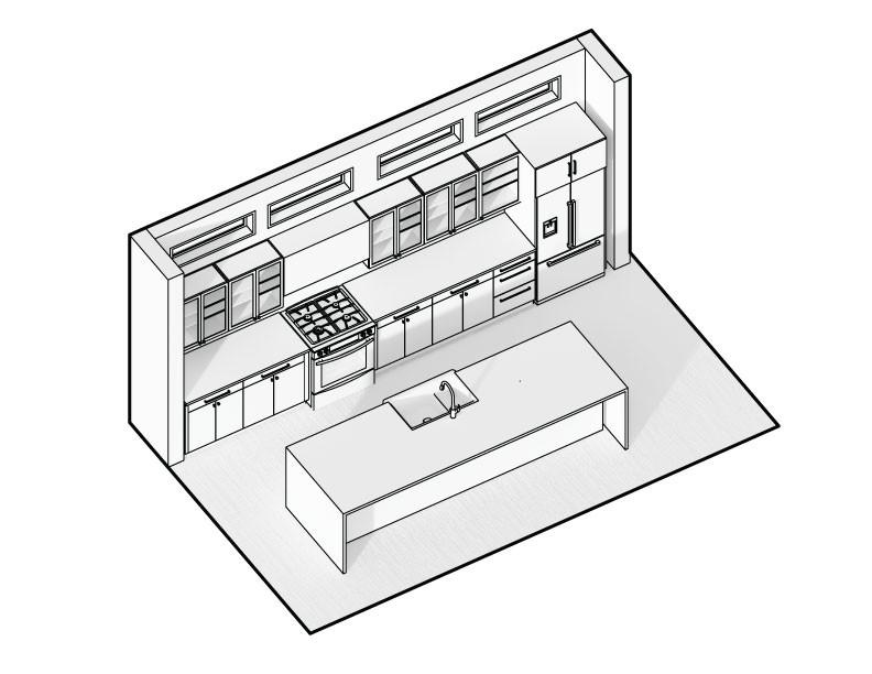 Kitchen Tier II - Axon