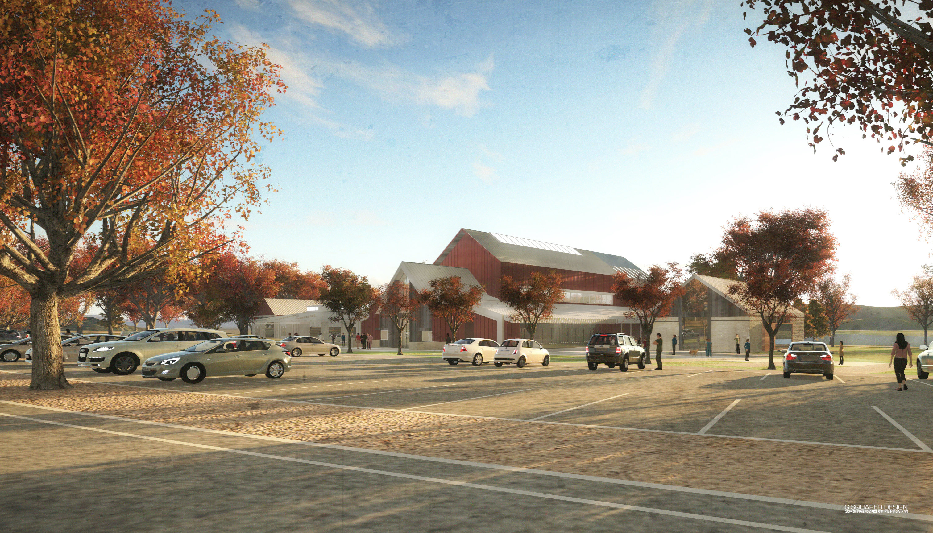 STREET LEVEL VIEW- Rendering