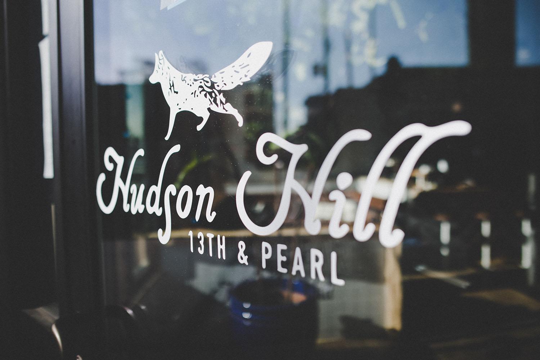 HUDSON HILL CAFE WINDOW