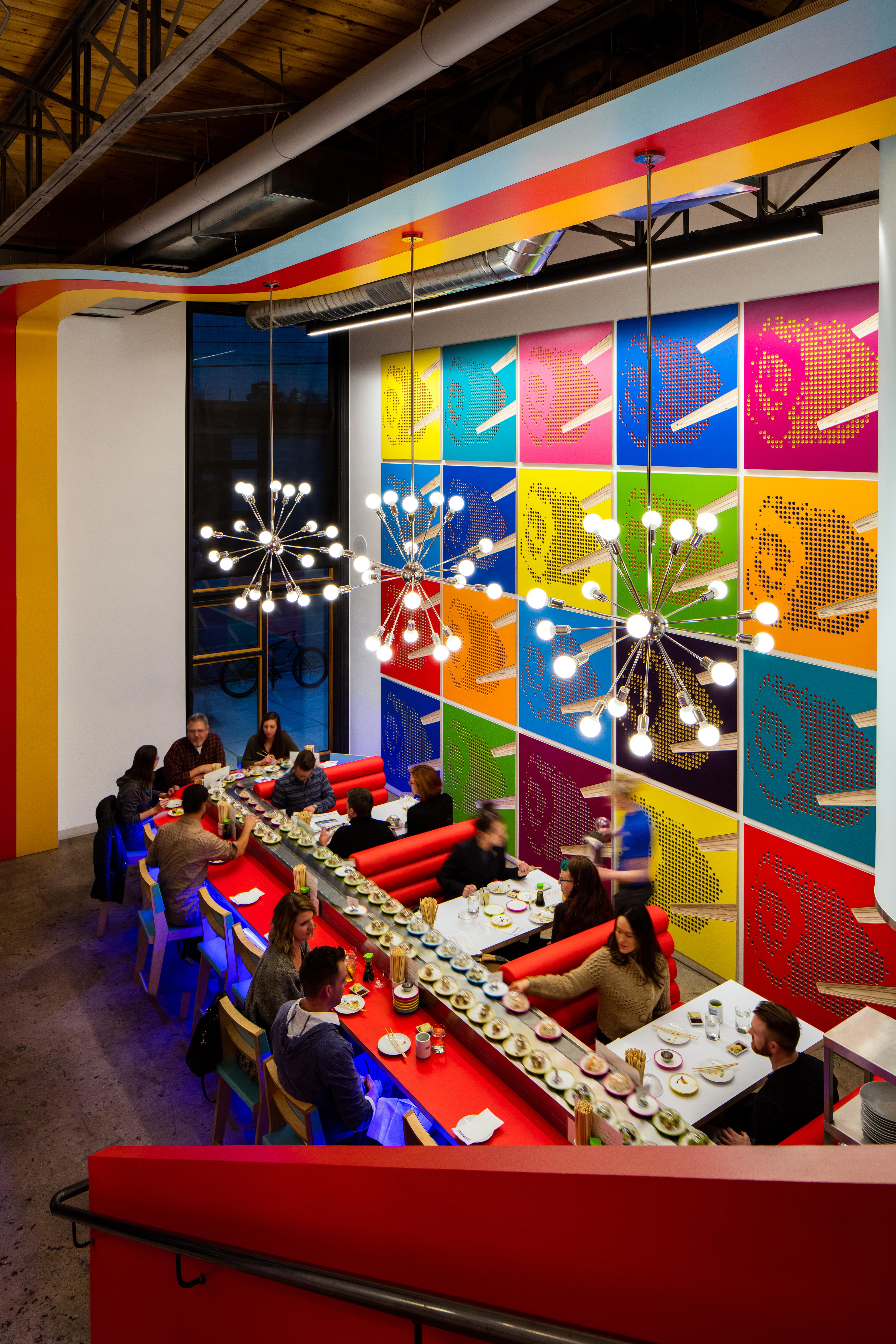 Sushi Rama Interior