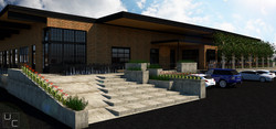 EXTERIOR ENTRY- Rendering 1