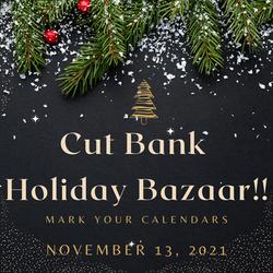 Cut Bank Holiday Bazaar!!